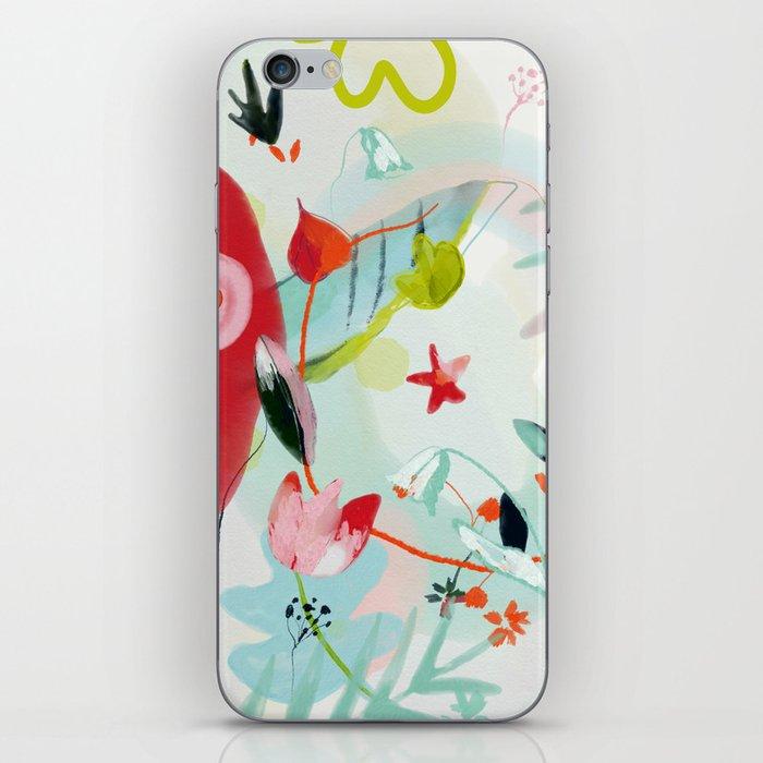 my summer garden iPhone Skin