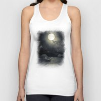 airplanes Tank Tops featuring Chapter V by Viviana Gonzalez