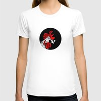 rooster T-shirts featuring rooster by Isacco Saccoman