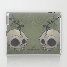 Skull Garden Laptop & iPad Skin