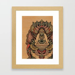 The Feeler Framed Art Print