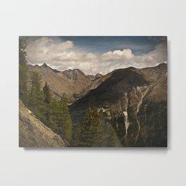 in the mountains II Metal Print