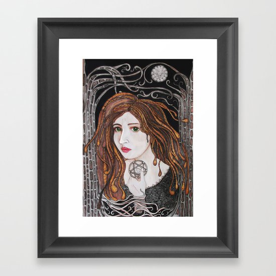 Out of the forest Framed Art Print