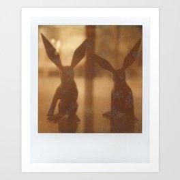Rabbit Rabbit Art Print