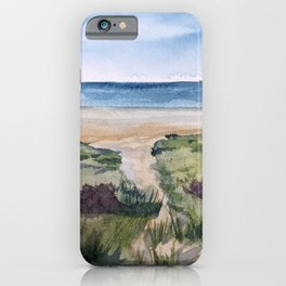 Path to the Beach iPhone Case