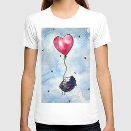 Little hedgehog dreams T-shirt