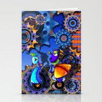 robots Stationery Cards featuring Robots by aboutlaila
