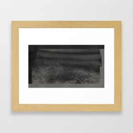 'The Catskill Mountain II - Black' Framed Art Print