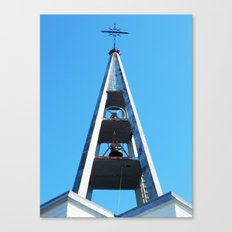 Bell tower church Belfry  Canvas Print
