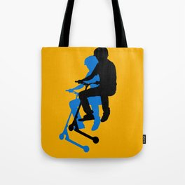 Landing Gears - Stunt Scooter Rider Tote Bag