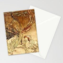 Arthur Rackham - Fouqué - Undine (1909) - The Infancy of Undine Stationery Cards