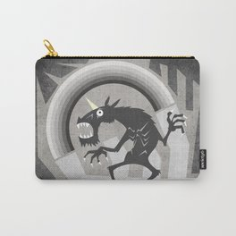 Somewhere under the gray rainbow Carry-All Pouch