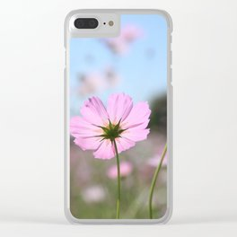 Thoughts of Spring Flowers Clear iPhone Case