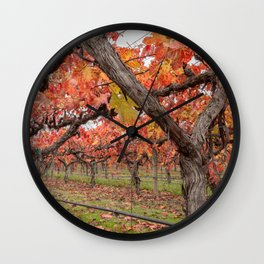 Red Vines Wall Clock