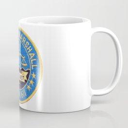 USS JOHN MARSHALL  (SSBN-611) PATCH Coffee Mug