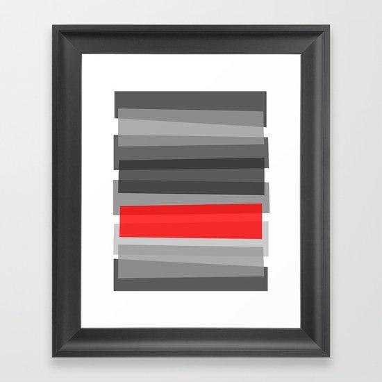 Cherry NOIR Framed Art Print