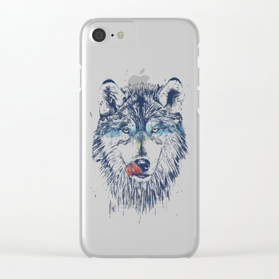 Dinner time Clear iPhone Case