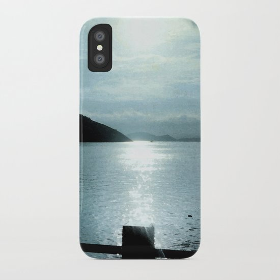 SUNSET RIVER iPhone Case