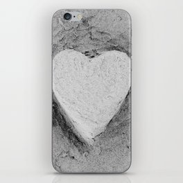 Sand Castle Heart iPhone Skin