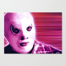 La Lucha - Violet Edition Canvas Print