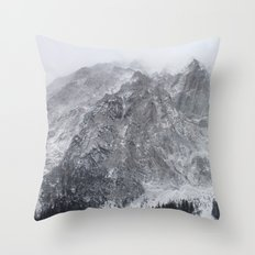 Mountains of Austria Throw Pillow