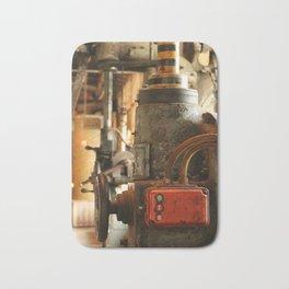 Heavy Industry - Old Machines Bath Mat