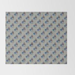 Basset Hound Throw Blanket