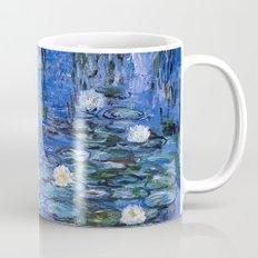 water lilies a la Monet Mug