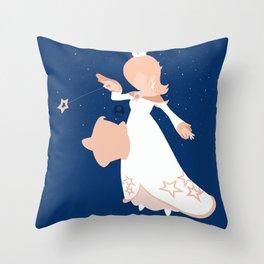 Rosalina(Smash)Childhood Throw Pillow