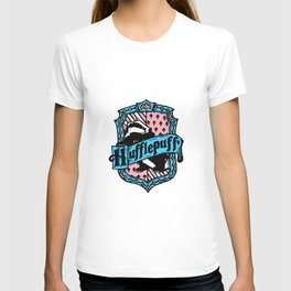Trans Pride Hufflepuff T-shirt