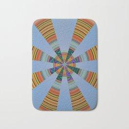 Sacred Sand Mandala Art Print Bath Mat