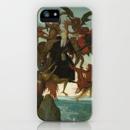 Michelangelo Buonarroti / The Torment of Saint Anthony / iPhone Case