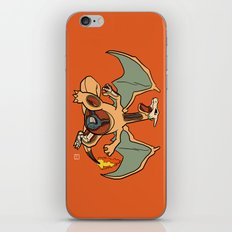 Charizard Anatomy iPhone & iPod Skin