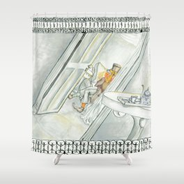 Wake Alice Shower Curtain