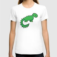 dinosaur T-shirts featuring Dinosaur by Chloe Meister