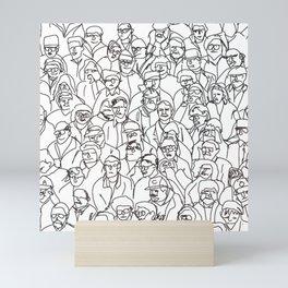 Lost in the Mob Mini Art Print