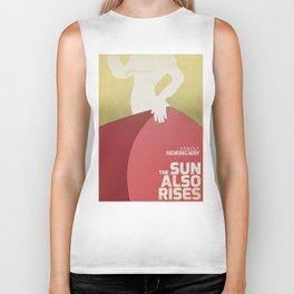 The sun also rises, Fiesta, Ernest Hemingway, classic book cover Biker Tank