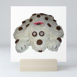 Doggy cake Mini Art Print