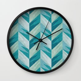 Chevron 18 Wall Clock