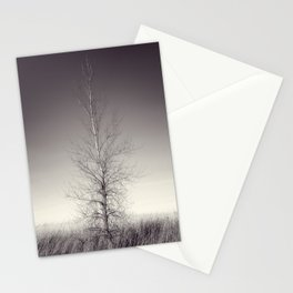 THE LAST TREE  (magenta) Stationery Cards