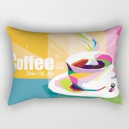 COFFEE - Color Of Life Rectangular Pillow