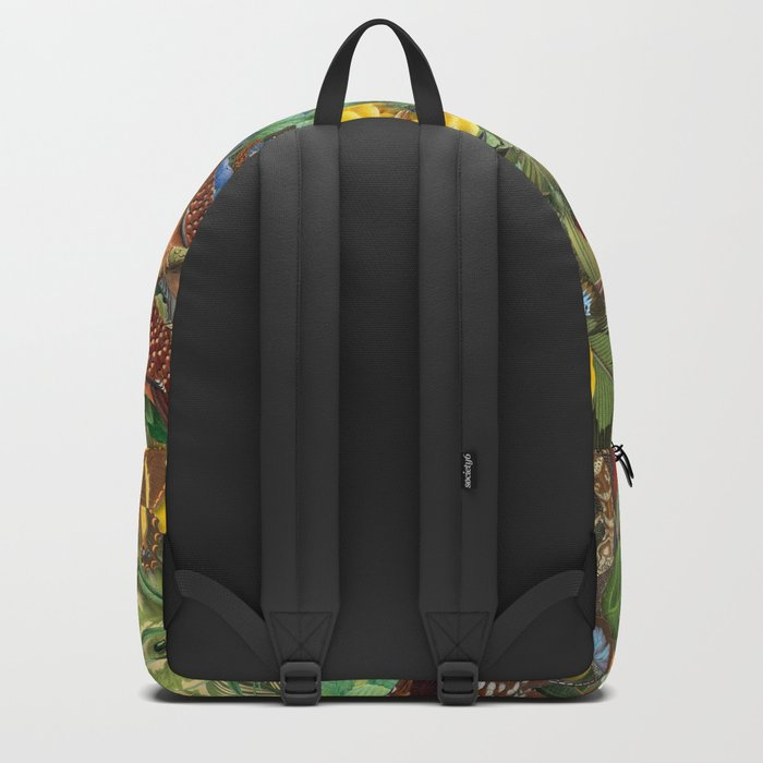 Birds Insects Plants Backpack
