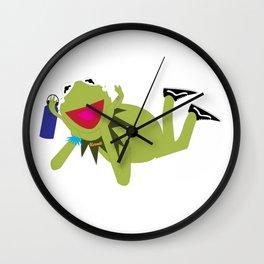 VSCO Kermit Wall Clock