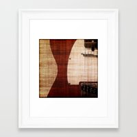 old school Framed Art Prints featuring Old School by Eric Rasmussen