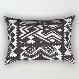 African Tribal Pattern No. 71 Rectangular Pillow