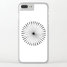 Sunburst Clear iPhone Case