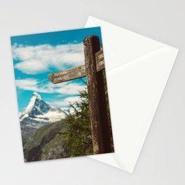 The Matterhorn Valais Switzerland Stationery Cards