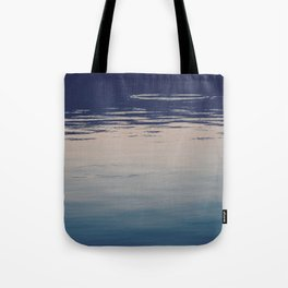 Ombre Lake Ripples Tote Bag