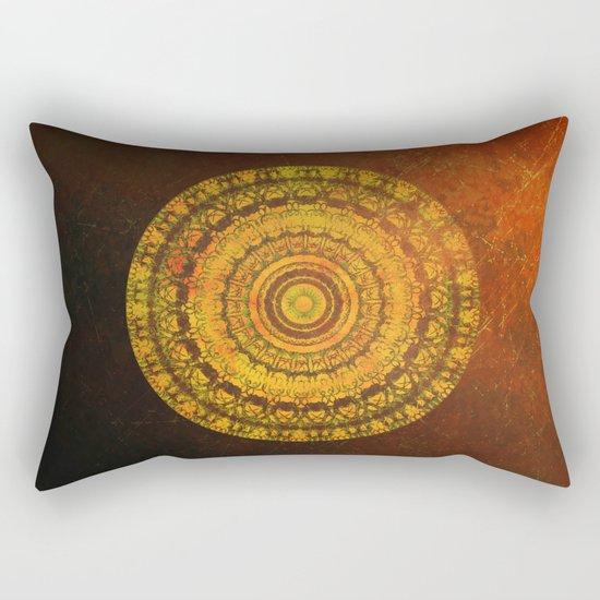 Sun Mandala 5 Rectangular Pillow