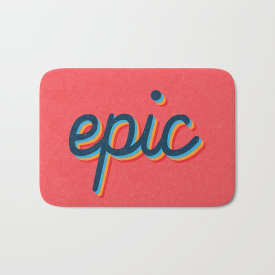 Epic - pink version Bath Mat